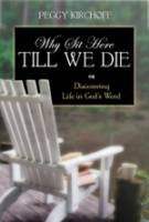 Why Sit Here Till We Die_image